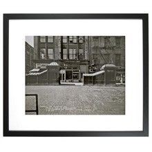 TransitMuseumStore.com Bleecker and Lafayette Streets, 1960 Framed Print