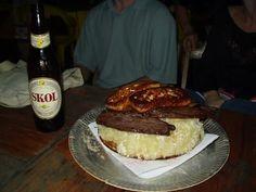 Macaxeira, carne de sol e queijo coalho...