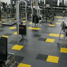 garage gym floor tiles
