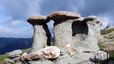 """""""cyclopean altars of Caraiman"""" is dedicated to Earth, Sky, Sun, Moon and Mars, god of war and agriculture. Romania Travel, Romania Tours, Places Around The World, Around The Worlds, Wonderful Places, Beautiful Places, Romania People, Foto Transfer, The Beautiful Country"""