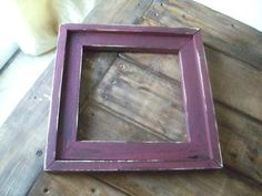 Ana White DIY Barnwood Frames - $1 and 10 minutes