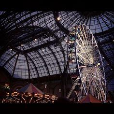 Fun fair at the Grand Palais #Paris