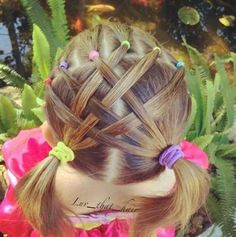 Peinado niñas #braid #girls #hair