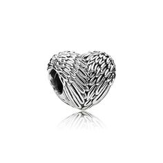 Wings symbolize comfort but also signify hope, aspiration and protection. Graceful and calming, these sterling silver angel wings are the perfect gift for anyone in need of a guardian angel. #PANDORA #PANDORAcharm