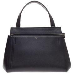 d498c05475c2 Pre-Owned Celine Edge Bag Leather Medium ( 1