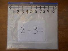 Sharing Kindergarten: Number Line Ideas