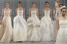 New York Bridal Week 2014: Marchesa, Vera Wang y Monique Lhuillier