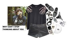 """""""Untitled #508"""" by iamcharlotte ❤ liked on Polyvore featuring Sykes, Underground, A.S.P, Claudie Pierlot, Dorothy Perkins, Casio, October's Very Own and La Perla"""