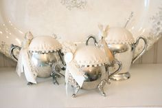 Tattered Tiques-Vintage Pin Cushions