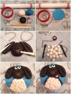 Timmy time Cupcake Topper Tutorial