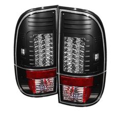 2008-2016 Ford Super Duty F-250, F-350, F-450 Version 2 LED Tail Lights - Black