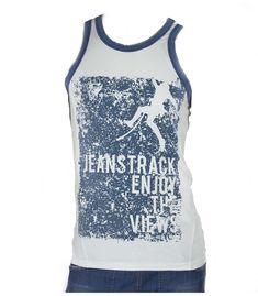 93f82cf99b Camiseta escalada flash blanco hombre. Camiseta de tirantes Flash blanco  para Escalada. Comprar Online. JeansTrack