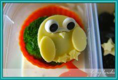 Loving a Wendolonia Challenge. . . . owl bento owl sandwich egg owl cheese owl @EasyLunchboxes @BentoUSA