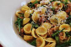 Orecchiette, Saint Rocco's, Pasta, Italian, Italian Restaurant, Dallas, Trinity Groves