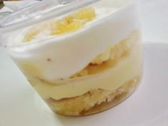 Aprenda a preparar bolo de pote de leite ninho com esta excelente e fácil receita.  No TudoReceitas.com ensinamos você a preparar um bolo de pote com recheio de leit...