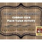 This product includes 20 Number Riddle Task Cards, answer sheet/key, and an assessment. This is great to use to practice and test student number sense. Can be played as a Scoot or Center game.