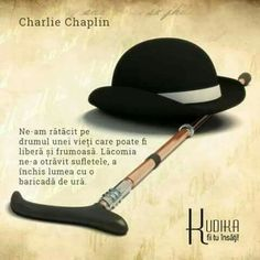 Charlie Chaplin, Womens Fashion, Quotes, Beautiful, Quotations, Women's Fashion, Woman Fashion, Quote, Shut Up Quotes