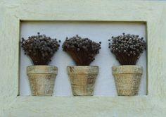 Decoração com flores secas - dicas, ideias, fotos 1