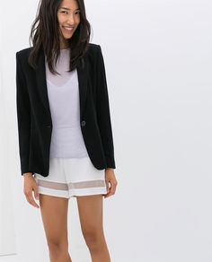 BLAZER WITH PIPING Ref. 7546/239 79.90 USD