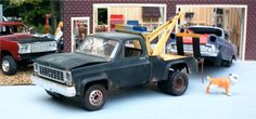 Old Chevy Wrecker - Scale Auto Magazine - For building plastic & resin scale model cars, trucks, motorcycles, & dioramas