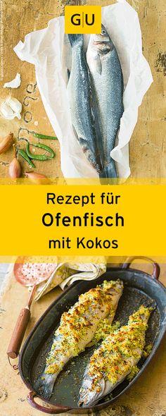 """Rezept für leckeren Ofenfisch mit Kokos aus dem Buch """"Indisch kochen"""". ⎜GU"""