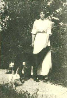 Grand Duchess Olga Alexandrovna sister of Tsar Nikolai II