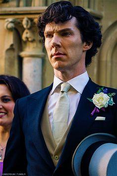 Sherlock, the Best Man.the sign of johnlock Benedict Sherlock, Sherlock John, Sherlock Holmes 3, Sherlock Season, Funny Sherlock, Martin Freeman, Ragnor Fell, Detective, Wedding Thanks