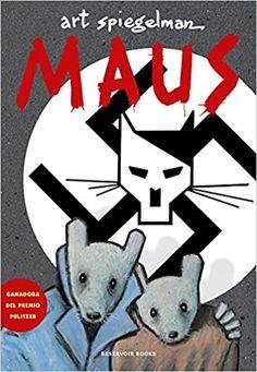 """Art Spiegelman. """"Maus"""". Editorial Penguin Random House The New Yorker, Art Spiegelman Maus, Great Books, New Books, Reading Art, S Stories, Kids Rugs, Cartoon, History"""