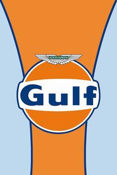 Gulf racing + Aston Martin Racing = Fabulous!