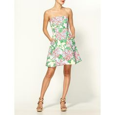 Lilly Pulitzer Blossom Dress found on Polyvore