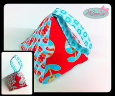How to sew a fabric doorstop