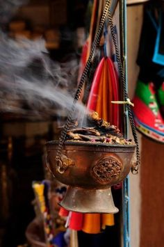 encens tibétain