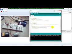 ▶ aula 4473 Arduino testando na pratica velocidade com potenciometro motor transistor diodo - YouTube
