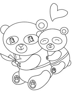 FREE panda coloring pages for adults   FREE Printable Coloring Pages ...