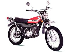 '72 Suzuki TS185J. My 2nd bike was a Suzuki TS 185.  I loved the sound of that thing