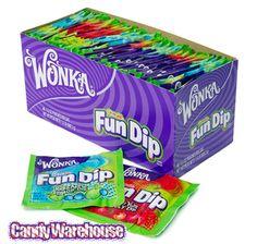 Wonka Fun Dip Candy Packs: 48-Piece Box-9.60