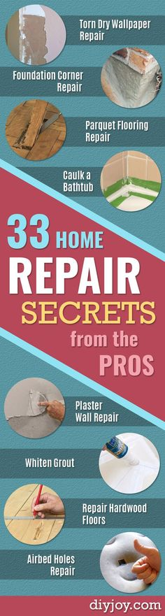 DIY Home Repair Projects- Home Improvement Ideas Home Repairs On A Budget Home Repair Tips Living Room Bedroom Kitchen Repair Home Improvement Quick And Easy Home Tips Diy Home Decor Rustic, Easy Home Decor, Cheap Home Decor, Decor Diy, Decor Crafts, Home Renovation, Home Remodeling, Remodeling Contractors, Kitchen Remodeling