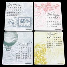 Welcoming 2013: 60 Unique Calendar Designs
