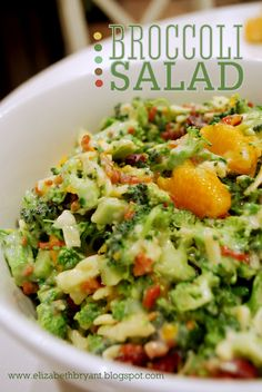 Broccoli Salad.....sounds utterly delicious (how to make it healthier?)