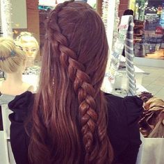 Dutch Lace Braid - Hairstyles How To #prom hairstyles