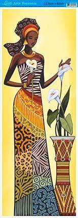 desenhos de mulheres negras para pintura artesanato ile ilgili görsel sonucu