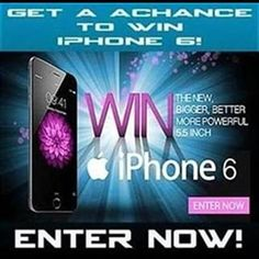 Win The Brand New Apple iphone 6 Get Free Iphone, New Iphone, Apple Iphone 6, Play Quiz, 100 Free