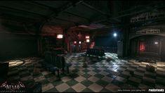 ArtStation - Batman: Arkham Knight (Lighting work), Ashley McKenzie