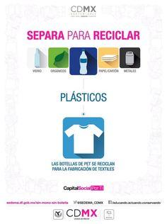Si separa sus residuos estos pueden ser reciclados y reutilizados
