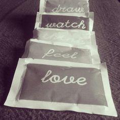 Draw.Watch.Think.Feel.Love