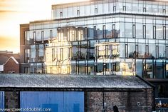 Before Sunset North Western Grand C Build House Rail Link Late Hotels Dublin Cathedrals Period