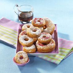 Unser beliebtes Rezept für Saure-Sahne-Donuts mit Ahornsirup und mehr als 55.000 weitere kostenlose Rezepte auf LECKER.de.