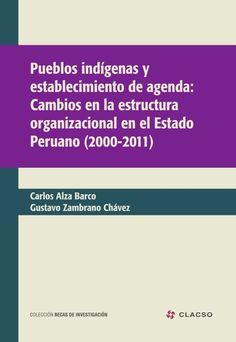 Pueblos indígenas y establecimiento de agenda: cambios en la estructura organizacional en el estado peruano 2000-2011. #PueblosOriginarios #PoliticasPublicas #Instituciones #Estado #Identidad #Empoderamiento #Democracia #Cultura #Inclusion #Peru