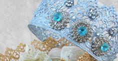 Conforme prometido, hoje o Handmade Style vai mostar como fazer coroas de princesa com renda guipir!!   Um boa ideia para fazer ...