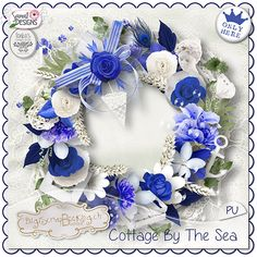 Cottage by the Sea by Ilonka's Scrapbook Desin and Samal Designs